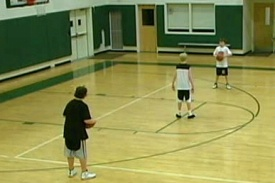 Youth Basketball Drills: Two-Ball Drill Requires Constant Movement