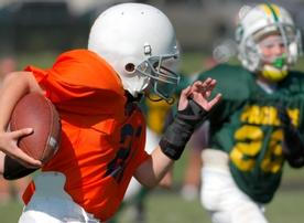 Youth football players must learn a lot of rules.
